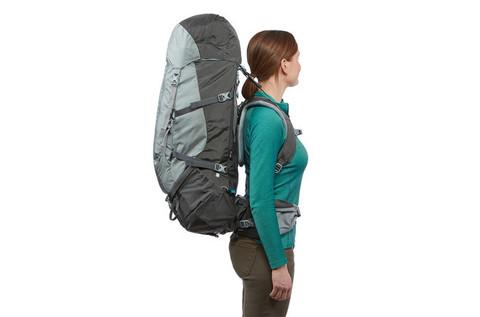 Картинка рюкзак туристический Thule Guidepost 65L Серый/Тёмно-Серый - 5