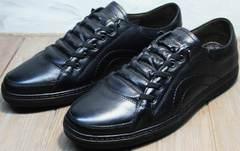 Кеды кроссовки мужские повседневные осень весна Novelty 5235 Black
