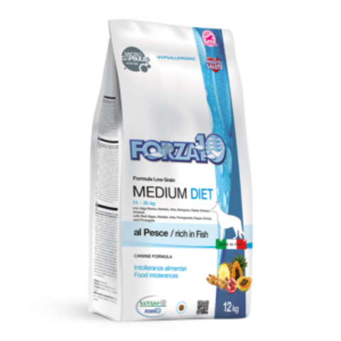 Forza10 Medium Diet Pesce из рыбы