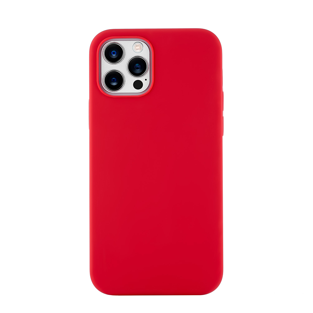 Чехол Leather Case для iPhone 12 / 12 Pro (Все цвета) крпсный.jpg