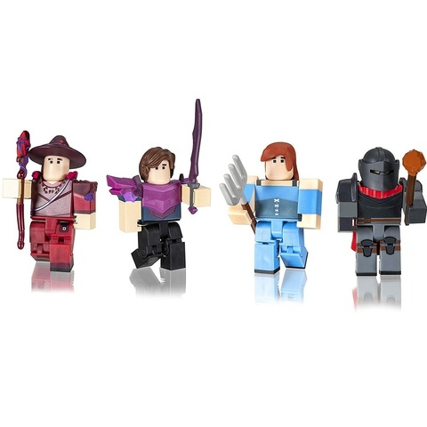 Роблокс Знаменитости Вестерия: Темный Лес набор из 4 фигурок