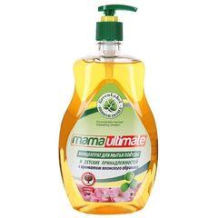 Концентрат для мытья посуды и детских принадлежностей Mama Ultimate с ароматом японского абрикоса 1 л