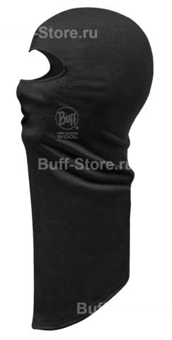 Балаклава шерстяная Buff Black фото 1