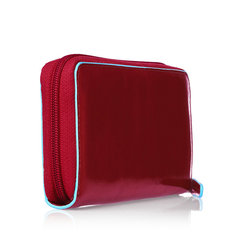 Портмоне Piquadro Blue Square, красное, 18x9,5x2,5 см