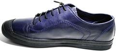 Модные мужские туфли кроссовки Luciano Bellini Blue