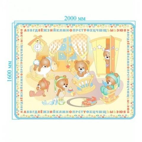 Развивающий коврик Mambobaby 'Медвежата' 028ТМ