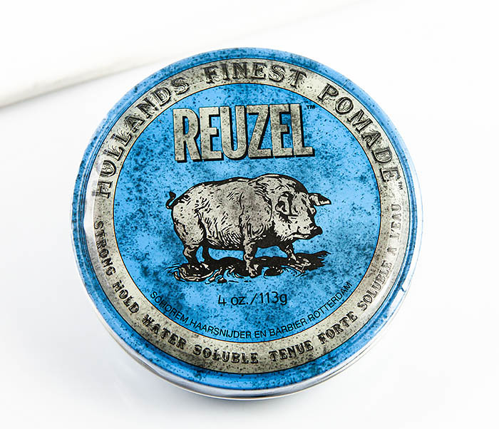 CARE124 Помада для укладки волос Reuzel Strong Hold High Shine (113 гр)