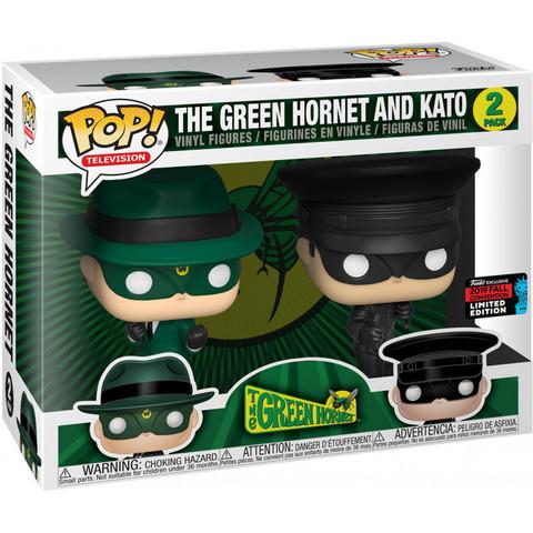 Green Hornet and Kato Funko Pop! (Exc NYC 2019)! || Зелёный Шершень и Като