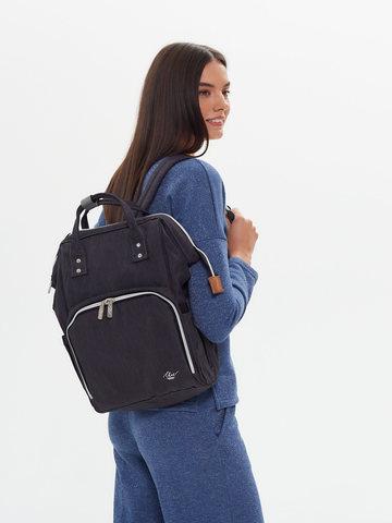 Рюкзак ChicMama Bags Темн Серый