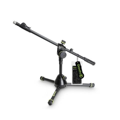 Gravity MS 3122 HDB микрофонная стойка короткая на треноге усиленная