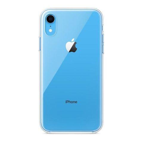 Чехол для iPhone XR - Прозрачный Силиконовый