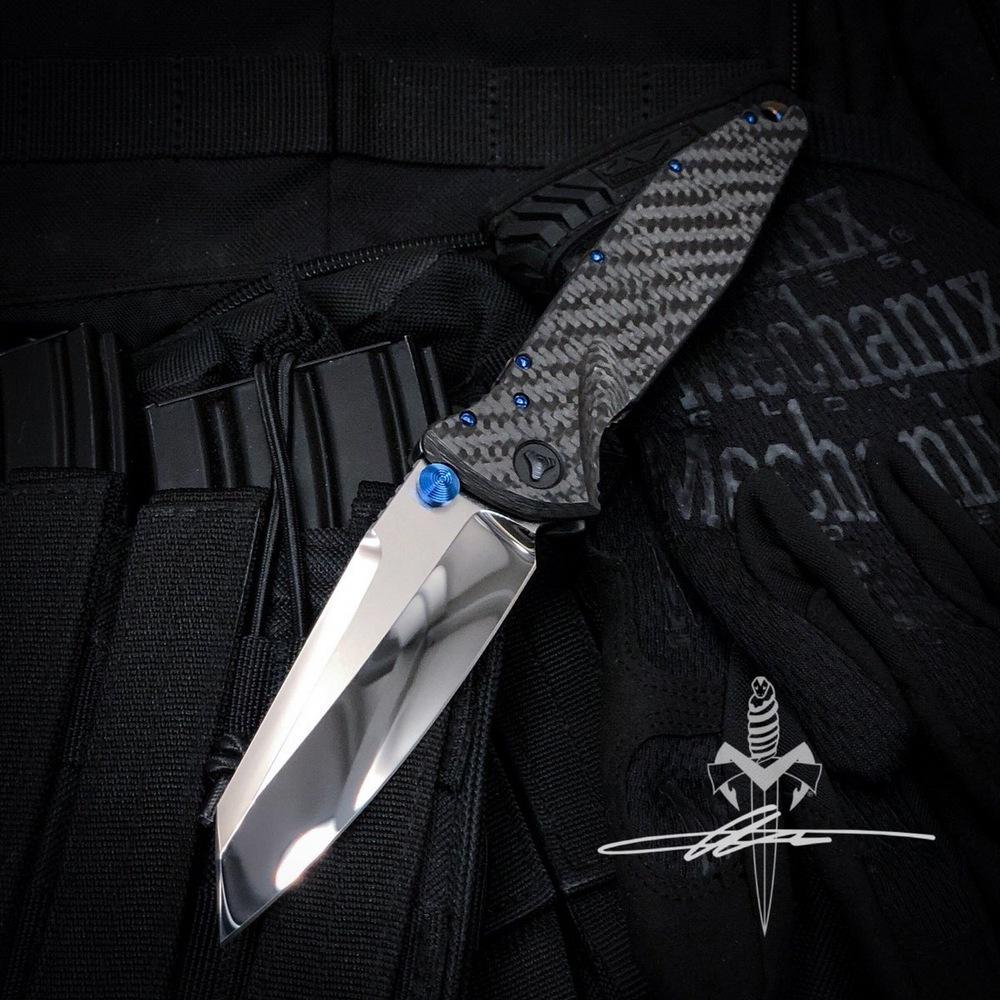 Нож Custom Marfione SOCOM Elite Warcom Mirror - фотография