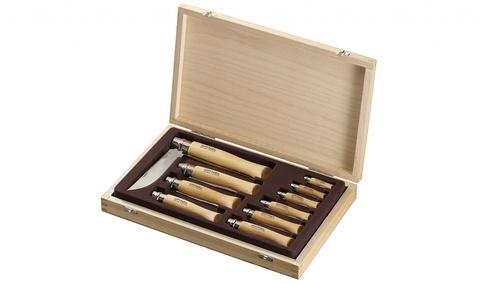 Набор складных ножей Opinel VRI Tradition Inox (10 штук)