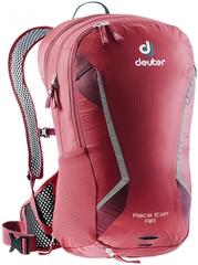 Deuter Race Exp Air 14+3 Cranberry-Maron - рюкзак велосипедный