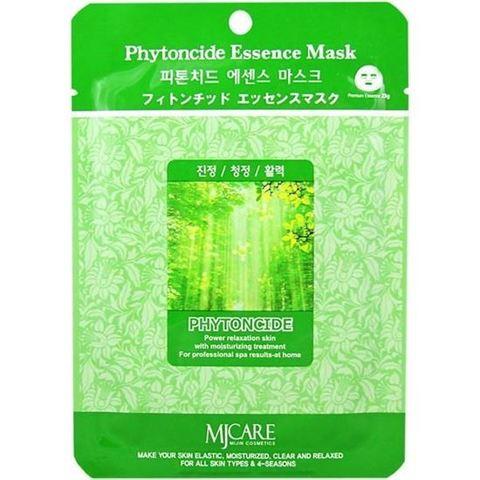 Тканевая маска для лица фитоциды MIJIN Care Mask