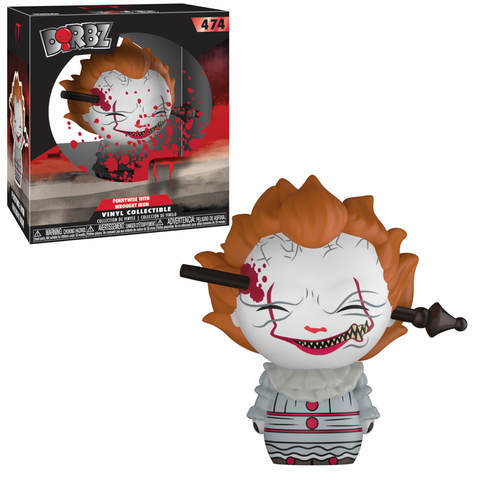 Pennywise with wrought iron Dorbz Vinyl Figure || Пеннивайз с гвоздём