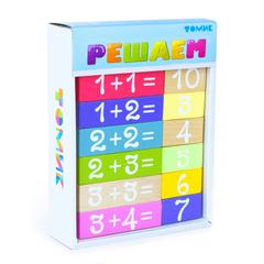 Логический игровой набор Учимся играя, решаем, Томик