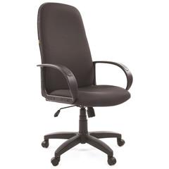 Кресло для руководителя Chairman 279 серое (ткань/пластик)