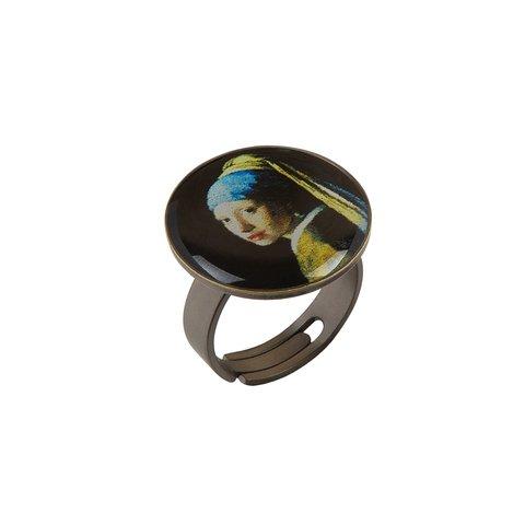 Кольцо «Девушка с жемчужной серёжкой» K78281-PERLA