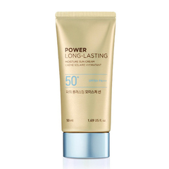 Солнцезащитное средсвто THE FACE SHOP Power Long-Lasting Moisture Sun Cream SPF50+ PA+++ 50ml