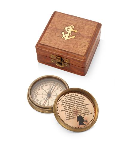 Подарочный компас Шерлок