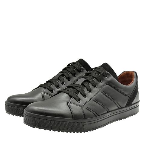752308 Полуботинки мужские черные. КупиРазмер — обувь больших размеров марки Делфино