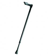 Трость опорная телескопическая с анатомической пластиковой ручкой