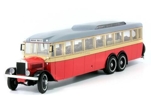 YaA-2 YaGAZ 1934 beige-red Ultra Models 1:43