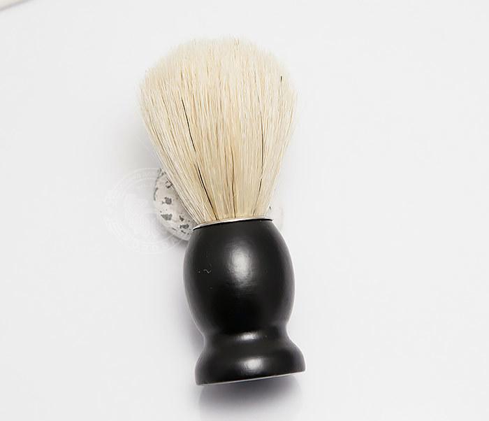 RAZ302-1 Помазок для бритья из щетины кабана фото 02