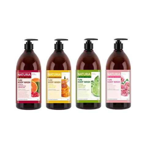 NATURIA Pure Body Wash Гель для душа на основе натуральных экстрактов