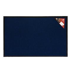 Коврик влаговпитывающий, ребристый, синий, 60*90 см