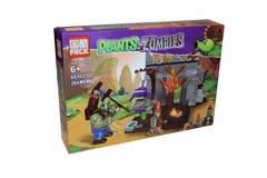 Конструктор Растения против Зомби 69302 Тронный зал Зомби гиганта, 264 дет.