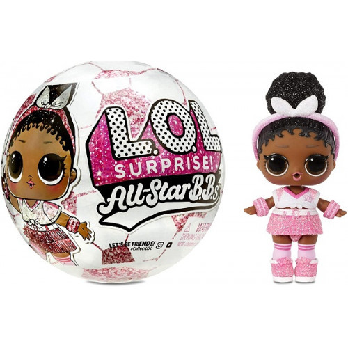Кукла-сюрприз L.O.L. Surprise All-Star B.B.s Sports Series 3 Soccer Team