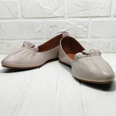 К,расивые туфли балетки с острым носом женские Wollen G036-1-1545-297 Vision.