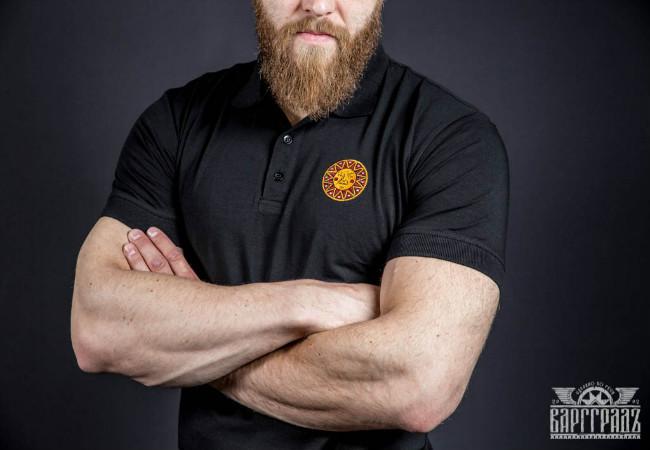 Поло Варгградъ мужское чёрное