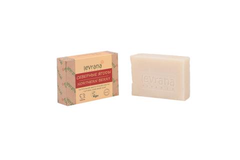 Levrana, Натуральное мыло ручной работы Северные ягоды, 100гр