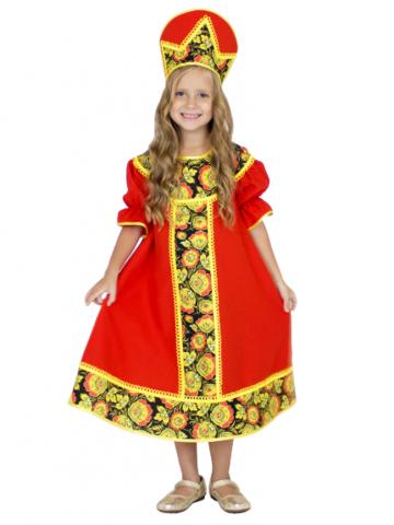 Карнавальный костюм Хохлома детский