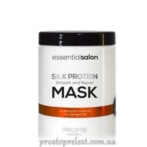 Profis Essential Salon Silk Protein Mask - Маска для волос с протеинами шелка
