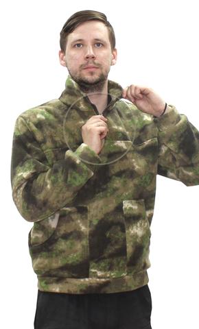 Толстовка флисовая Милитари (цвет Атакс)