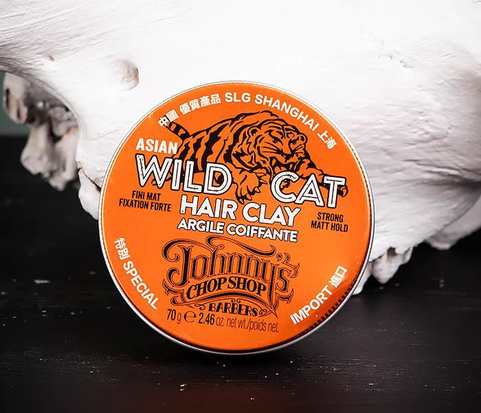 CARE101 Матовая глина Johnny's Chop Shop «WILD CAT» сильной фиксации (70 гр.) фото 02