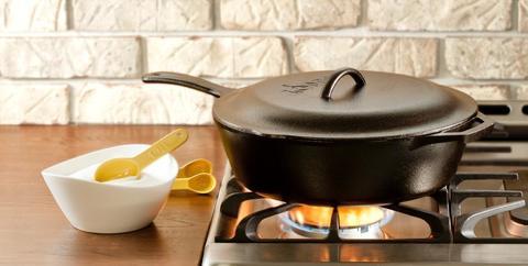 Сковородка глубокая круглая с крышкой , артикул L10CF3