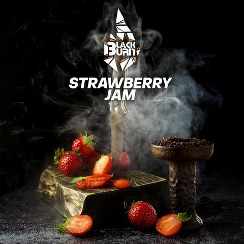Табак Burn Black Strawberry Jam (Клубничное варенье) 100 г