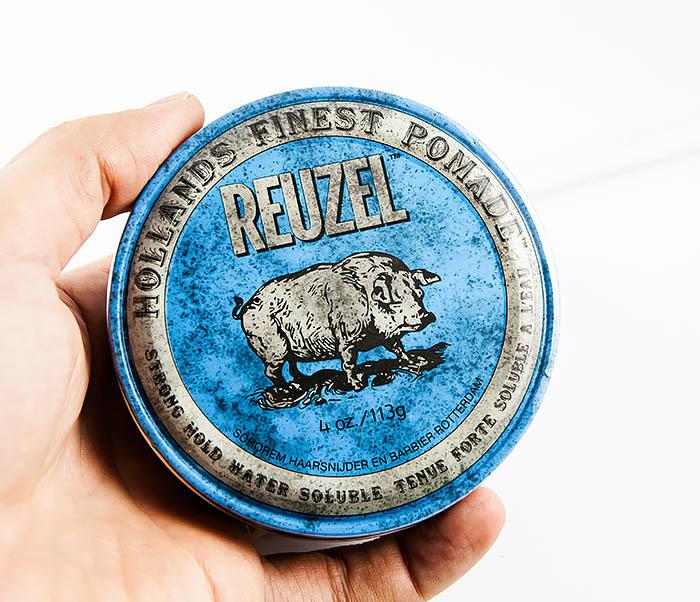 CARE124 Помада для укладки волос Reuzel Strong Hold High Shine (113 гр) фото 04
