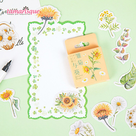 Стикер Цветы
