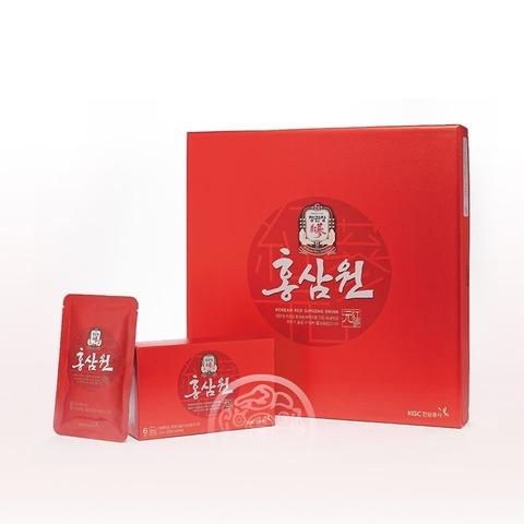 Напиток безалкогольный негазированный с экстрактом корейского красного женьшеня 50мл*30пак Корея
