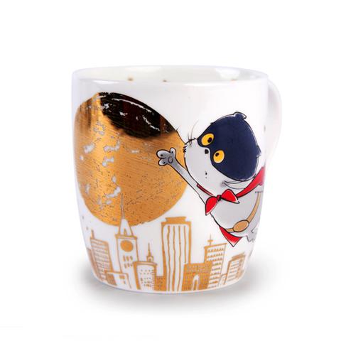 Кружка кот Басик СуперКот