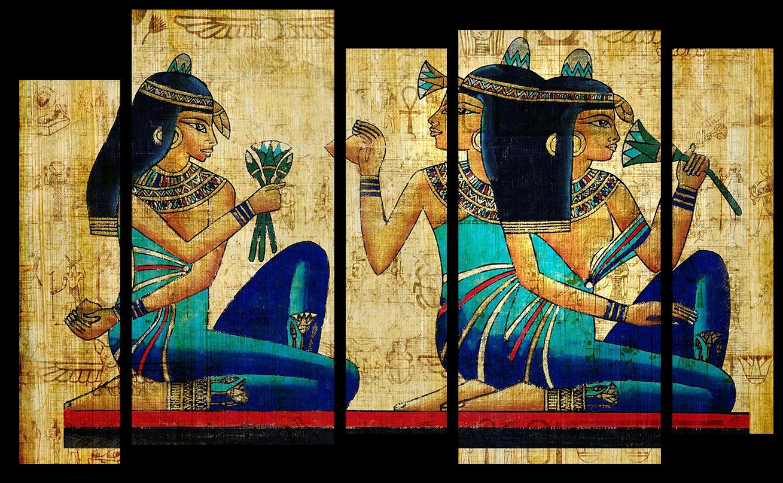 """Абстракция Модульная картина """"Древний Египет"""" М504.png"""