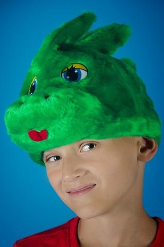 Карнавальная шапочка Дракон