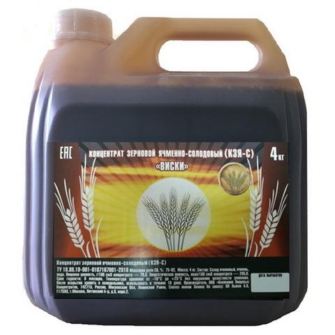 Концентрат ячменного солода КПК Виски, 4000 г