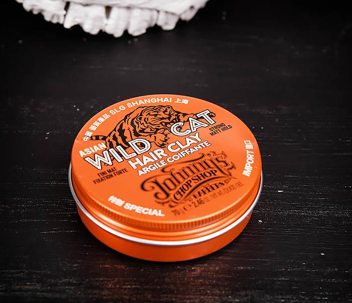 CARE101 Матовая глина Johnny's Chop Shop «WILD CAT» сильной фиксации (70 гр.) фото 03